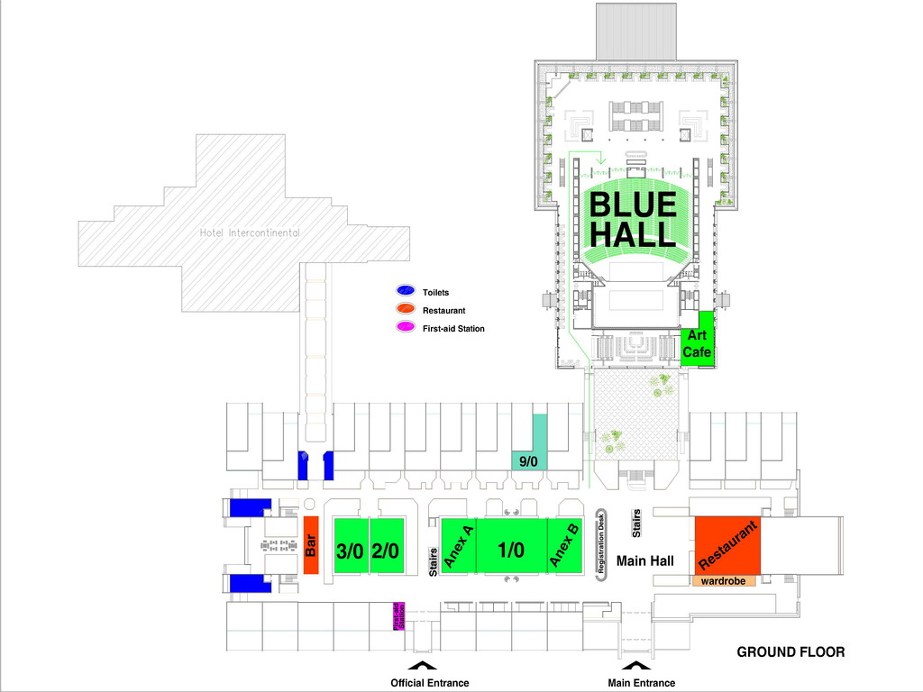 mapa beograda sava centar Telfor 2010 | Floor Plans mapa beograda sava centar